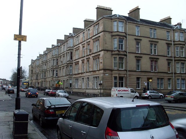 Tenements on Sauchiehall Street