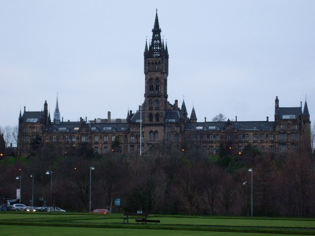 Glasgow University Old Building