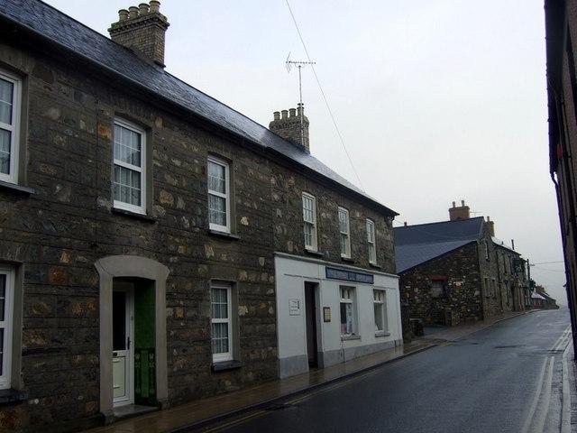 Bridge Street in winter