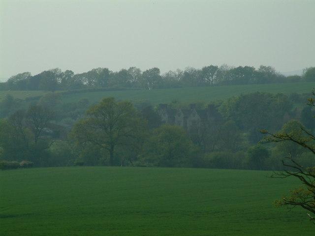 Wilderhope Manor - distant view