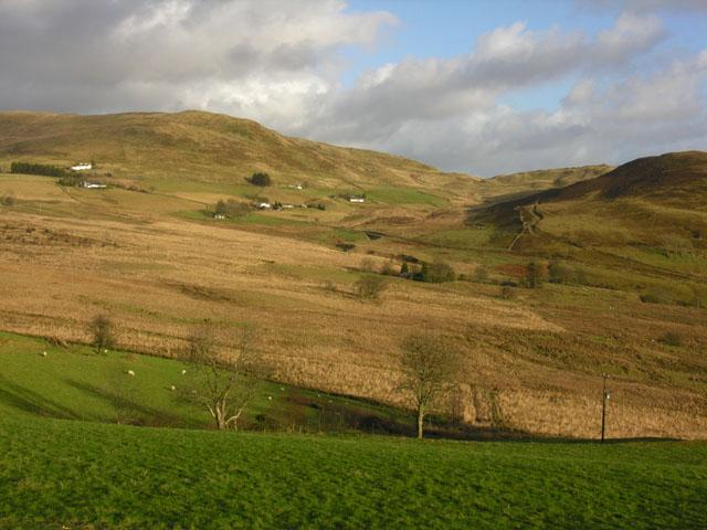 Fields near Ty'n-y-bryn