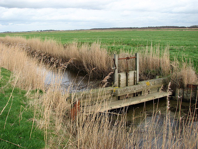 Open sluice