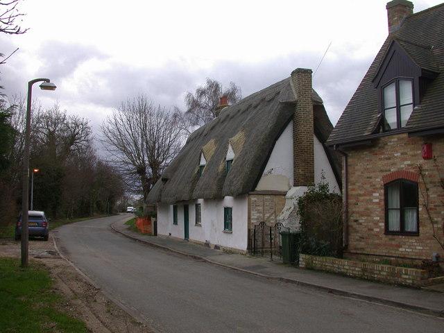 Thatched cottage, Fen Road