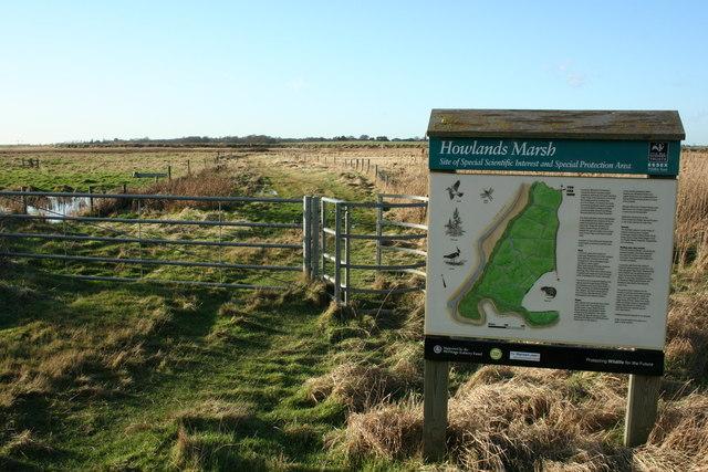 Howlands Marsh SSSI