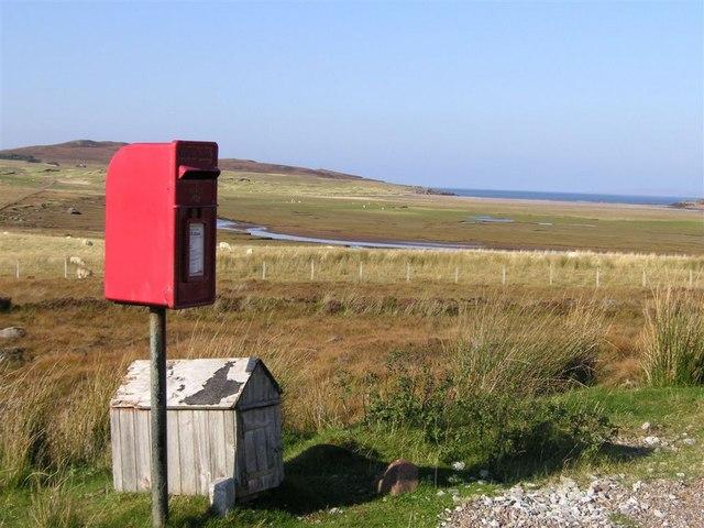 Postbox, Achnahaird, near Achiltibuie