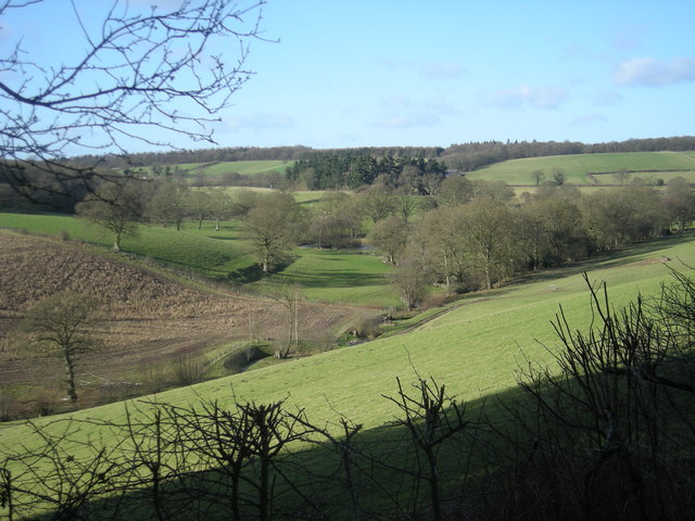 Valley near Middlehope