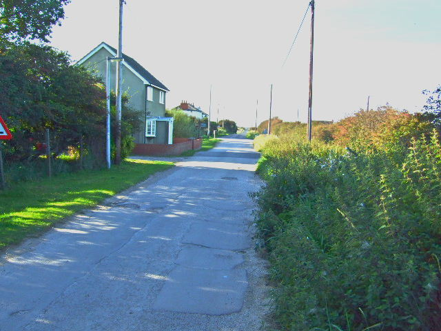 Kilnsea  lane