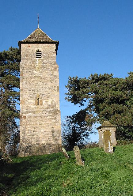 St. Oswald's Church tower, Lassington