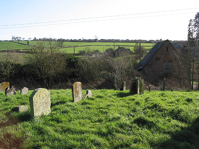 Graveyard at St. Oswald's, Lassington