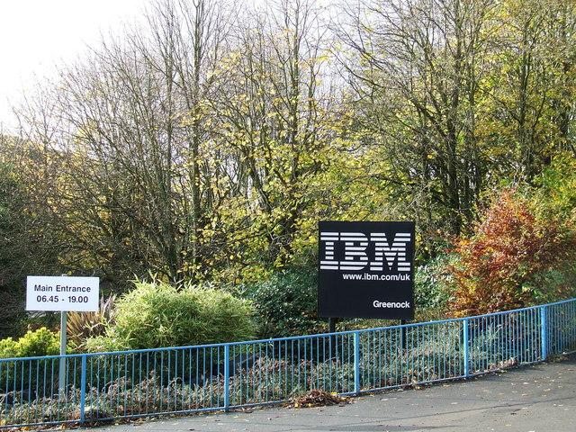 IBM main entrance