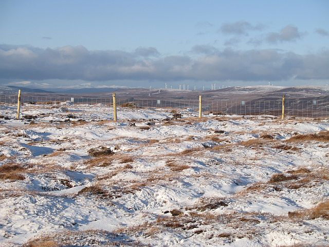 Ridged ground, Carn Phris Mhòir