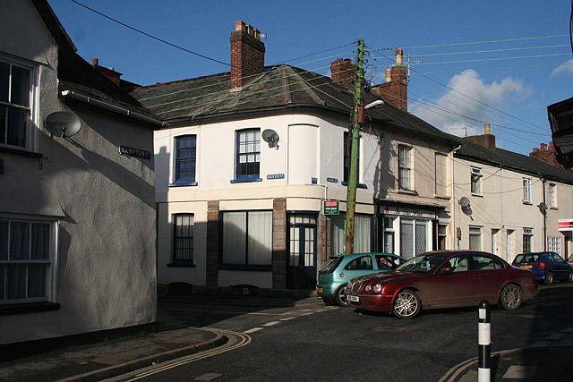Tiverton: Bampton Street and Park Street