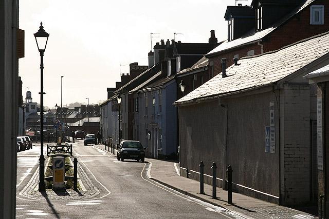 Tiverton: Castle Street