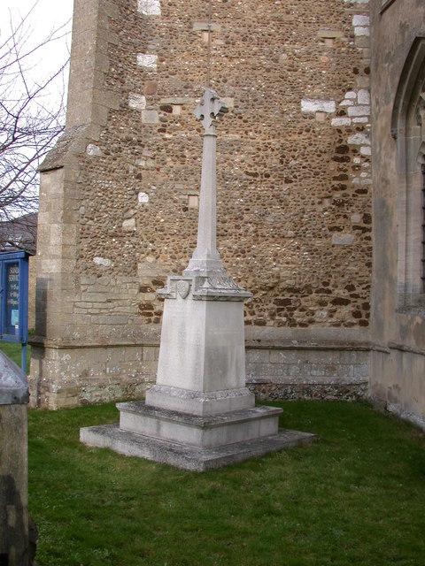 Landbeach War Memorial