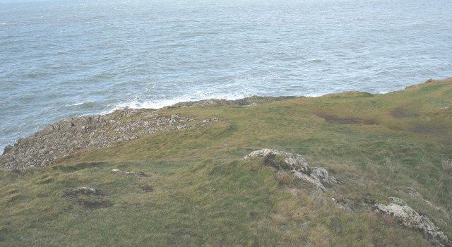 The north-western tip of Trwyn Porthdinllaen