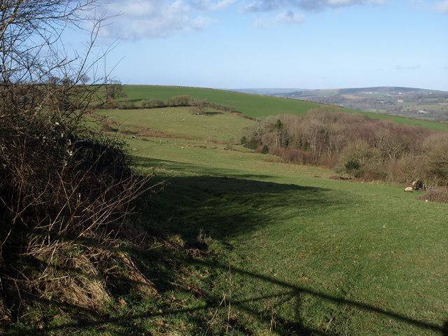 Valley near Atherington