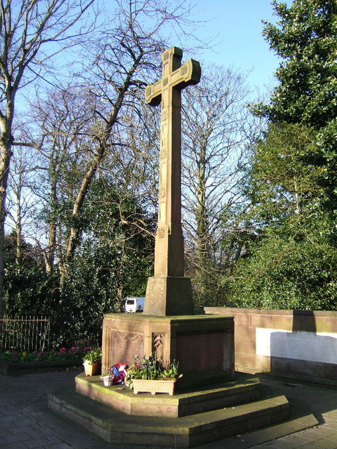 War Memorial, Hoole Road, Chester