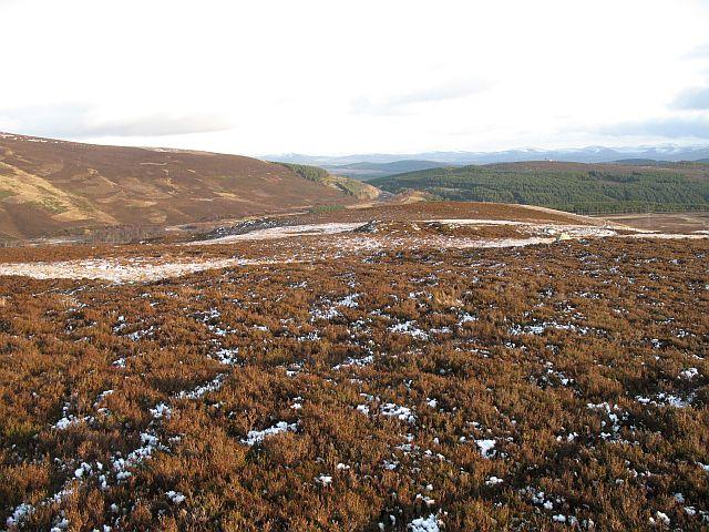 A moorland ridge