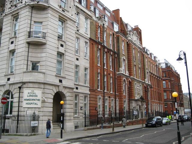 Bloomsbury: Royal London Homoeopathic Hospital