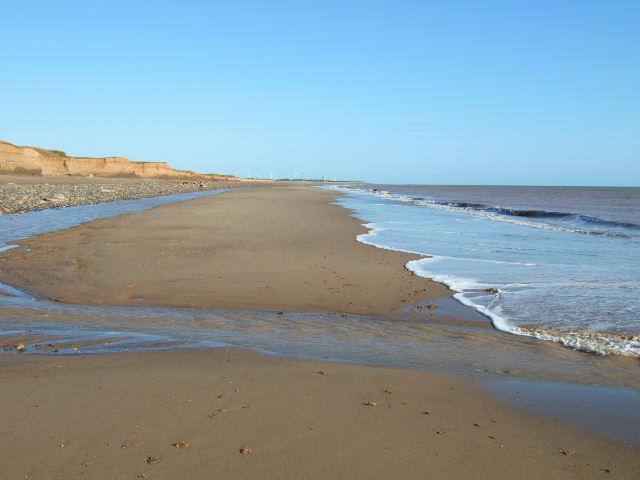 Beach and stream
