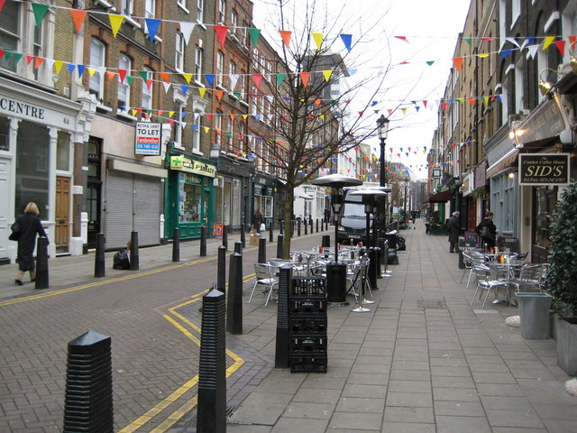 Bloomsbury: Lamb's Conduit Street, WC1