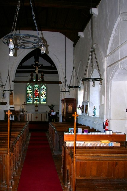 Inside All Saints' church