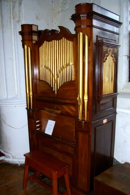 Organ in All Saints' church