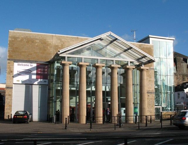Exhibition Halls main entrance