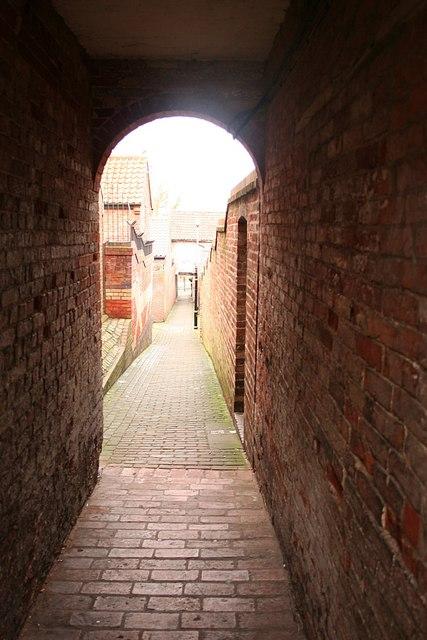 Lock Entry Passage