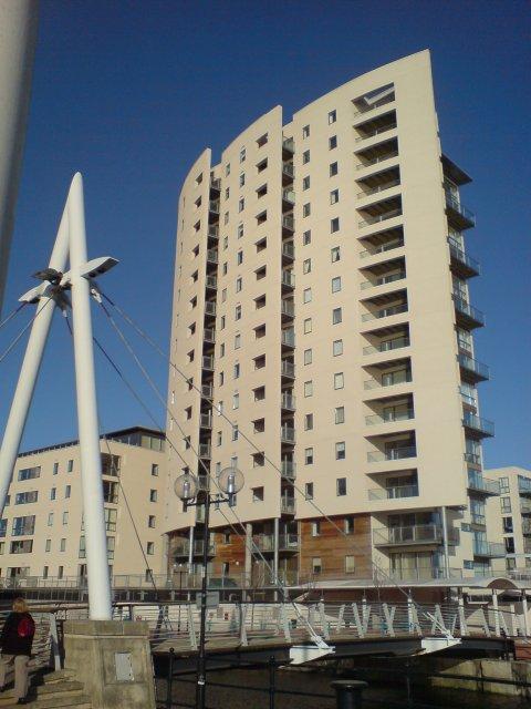 New Flats, Cardiff Bay