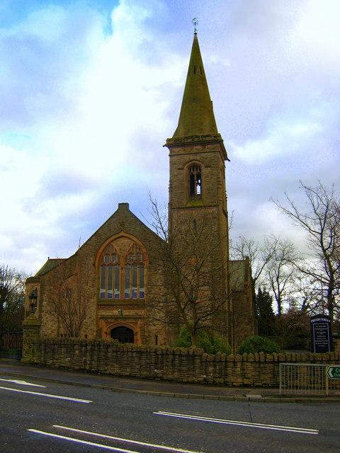 malone presbyterian church  belfast  u00a9 rossographer cc