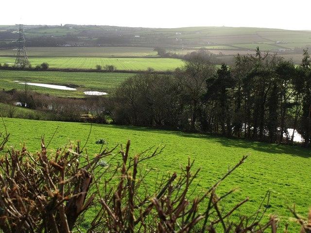 Taw valley near Horestone Apiary
