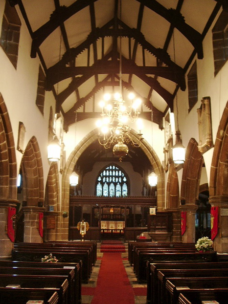 St Bartholomew's Parish Church, Colne, Interior