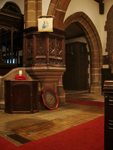 St Bartholomew's Parish Church, Colne, Pulpit