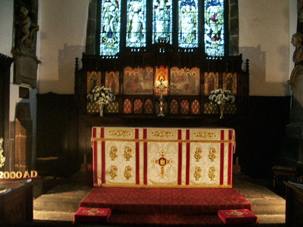St Bartholomew's Parish Church, Colne, Altar