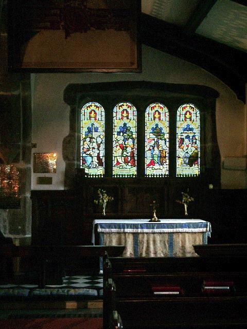 St Bartholomew's Parish Church, Colne, Side chapel