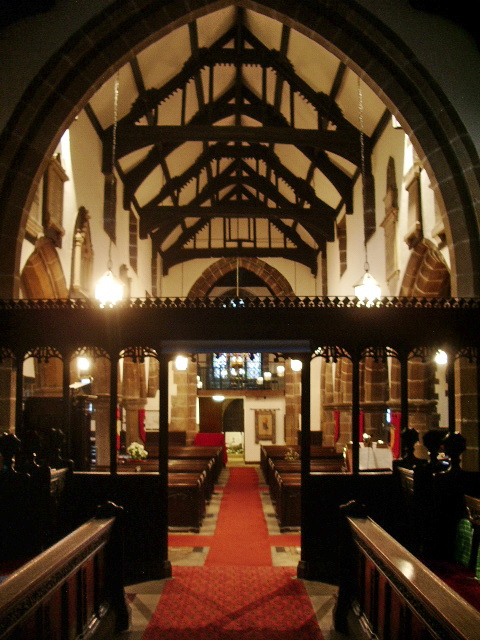 St Bartholomew's Parish Church, Colne, Interior