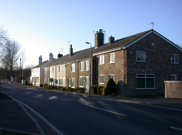 Terraced houses, Station Road