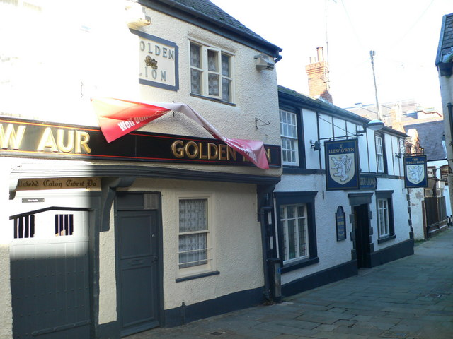 Golden Lion and White Lion