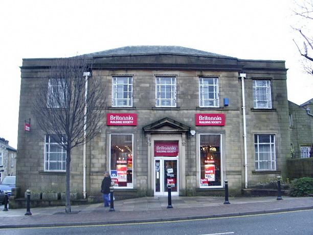 The Britannia Building Society, Albert Road, Colne