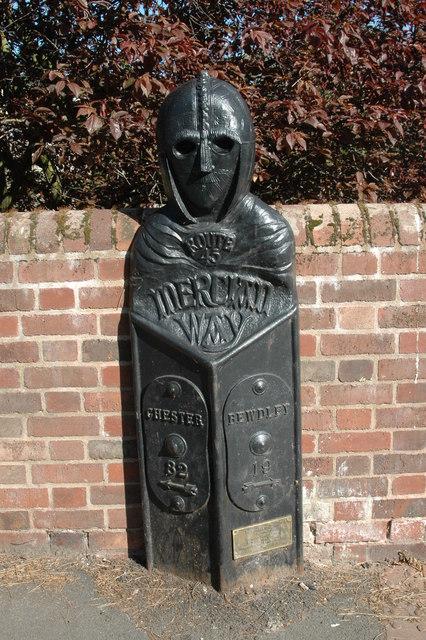 Mercian Way marker