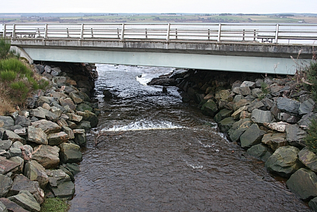 Rosskeen Burn and Bridge