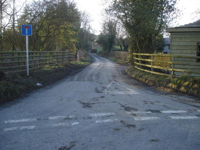 Lane to Burl Hill