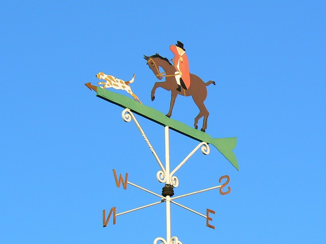Weather vane, Kingstone Lisle