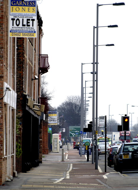 Cycle Track, Hedon Road