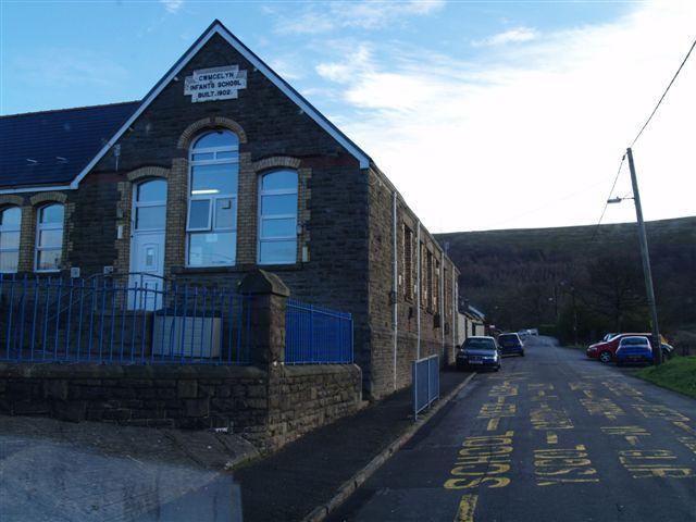 School and Cwmcelyn Road