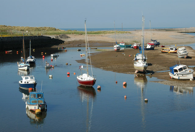 Boats in the estuary