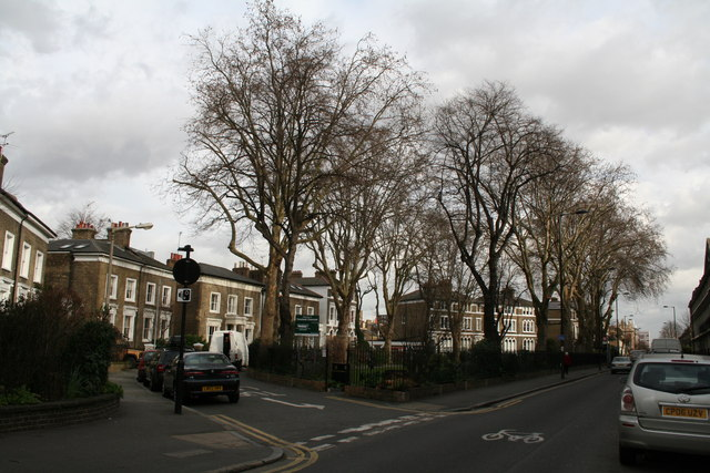 Cassland Road and Cassland Crescent, South Hackney