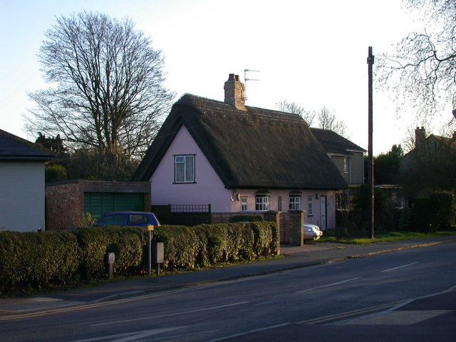 Thatched cottage, High Street