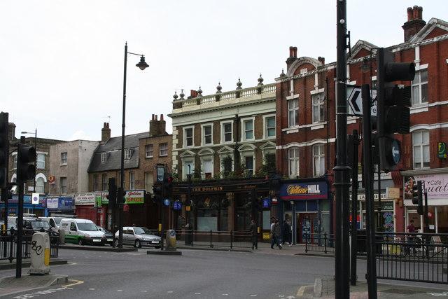 The 'Dolphin', Mare Street, Hackney